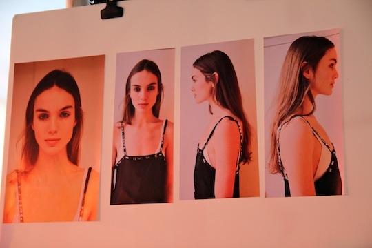 vanessa bruno back stage fashion week