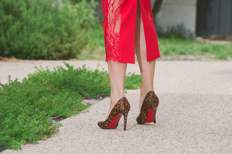 louboutin leopard heels