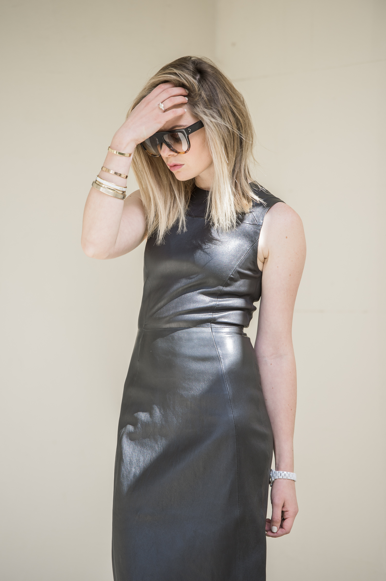 leather-dress