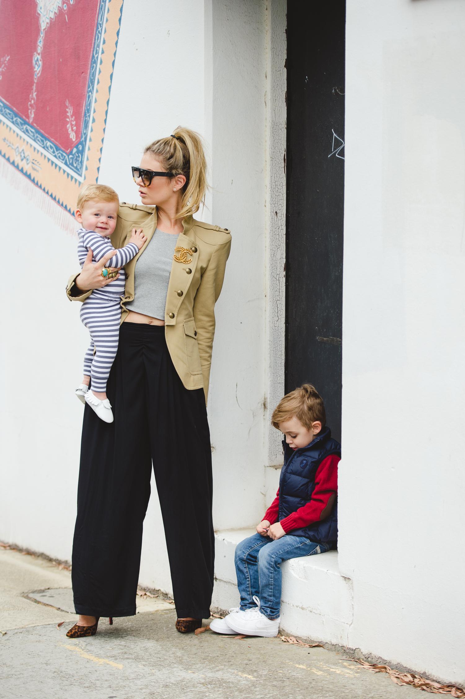 high fashion mom