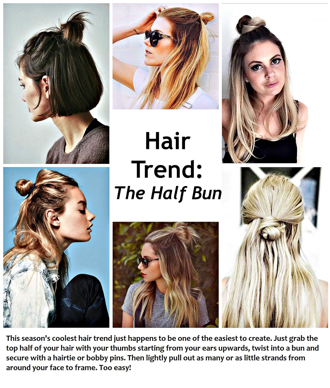 HAIR-TREND-HALF-BUN