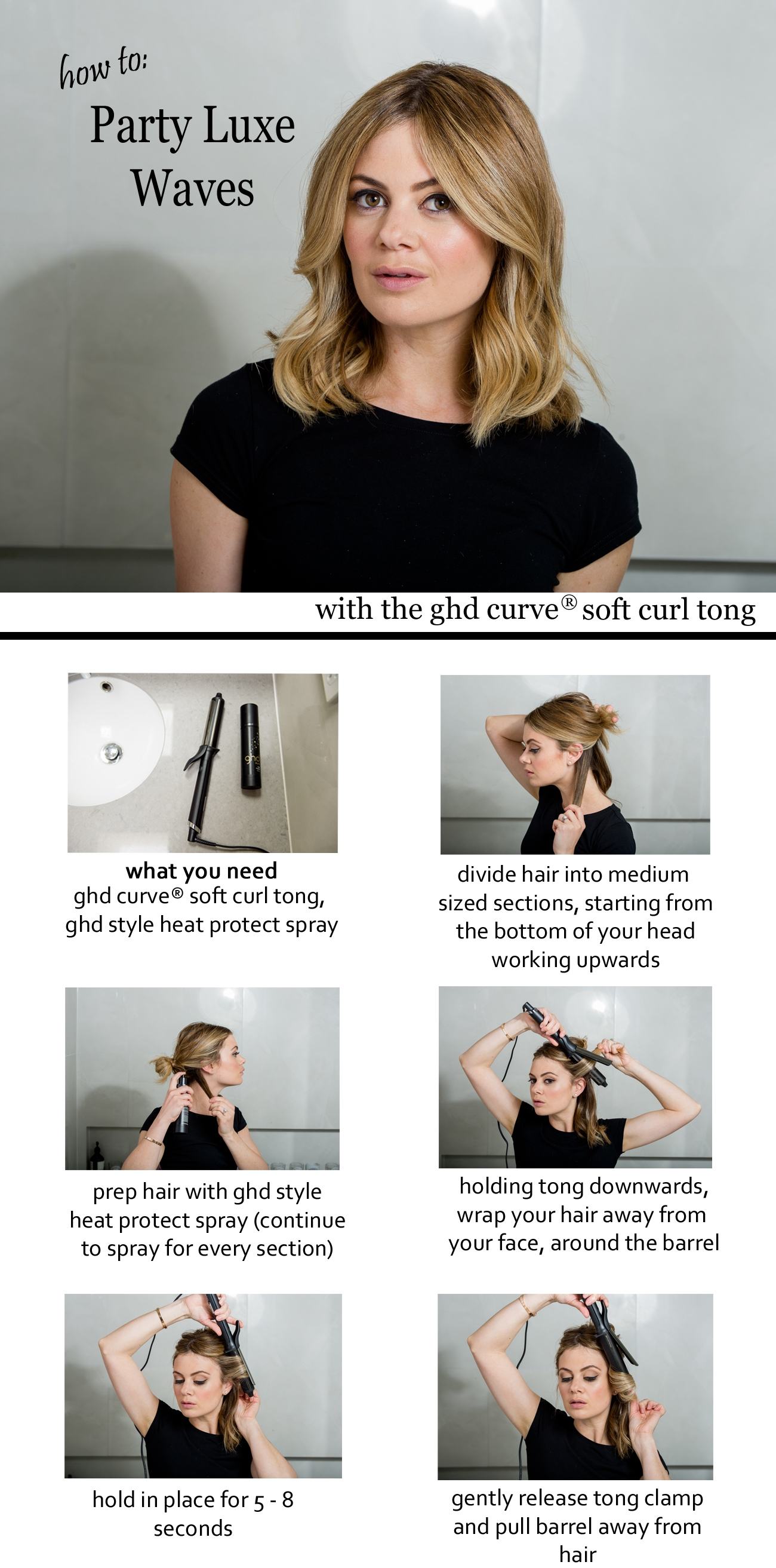 how to use the ghd curling wand